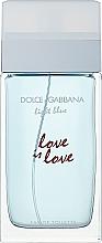 Духи, Парфюмерия, косметика Dolce & Gabbana Light Blue Love is Love Pour Femme - Туалетная вода