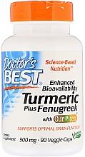 Parfumuri și produse cosmetice Curcuma și schinduf - Doctor's Best Turmeric Plus Fenugreek
