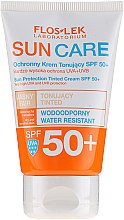 Parfumuri și produse cosmetice Cremă de protecție solară SPF 50+ - Floslek Sun Protection Tinder Cream SPF50+