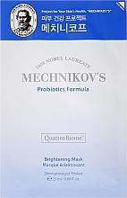 Parfumuri și produse cosmetice Mască de față - Holika Holika Mechnikov's Probiotics Formula Mask Sheet