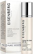 Parfumuri și produse cosmetice Cremă de zi SPF 30 - Jose Eisenberg Pure White Day Cream SPF 30