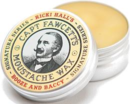 Parfumuri și produse cosmetice Ceară pentru mustăți - Captain Fawcett Ricki Hall Booze & Baccy Moustache Wax