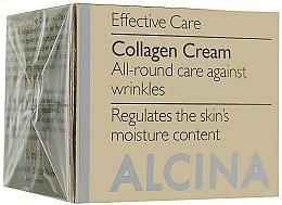 Parfumuri și produse cosmetice Cremă de față cu efect anti-îmbătrânire - Alcina E Collagen Creme