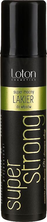Lac fixativ de păr extra puternic - Loton Hair-Spray Super Strong