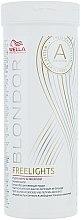 Parfumuri și produse cosmetice Pudră albă decolorantă pentru șuvițe - Wella Professionals Blondor Freelights