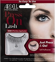 Parfumuri și produse cosmetice Gene false - Ardell Press On Lash 105 Black
