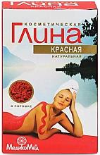 Parfumuri și produse cosmetice Argilă cosmetică roșie - Medicomed