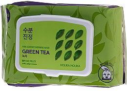 Parfumuri și produse cosmetice Mască de față cu ceai verde - Holika Holika Pure Essence Morning Mask Green Tea