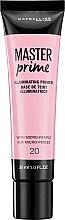 Parfumuri și produse cosmetice Bază de machiaj hidratantă - Maybelline Master Prime 20 Illuminating