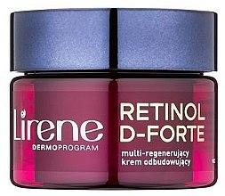 Parfumuri și produse cosmetice Cremă lifting de noapte pentru față - Lirene Retinol D-Forte Face Cream 70+