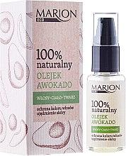 Parfumuri și produse cosmetice Ulei pentru păr, corp și față cu extract de avocado - Marion Eco Oil