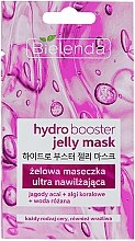 Parfumuri și produse cosmetice Mască de gel ultra-hidratantă pentru toate tipurile de piele - Bielenda Hydro Booster Jelly Mask