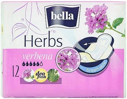 Absorbante Panty Herbs Verbena, 12 bucăți - Bella