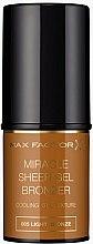 Parfumuri și produse cosmetice Bronzer stick - Max Factor Miracle Sheer Gel Bronzer