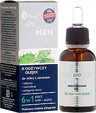 Parfumuri și produse cosmetice Ulei pentru față - Ava Laboratorium Eco Men Oil