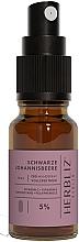 """Parfumuri și produse cosmetice Ulei spray pentru gură """"Coacăze negre"""" 5% - Herbliz CBD Oil Mouth Spray 5%"""