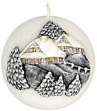 Parfumuri și produse cosmetice Lumânare aromată, 10 cm - Artman Christmas House Candle Ball