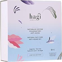 Parfumuri și produse cosmetice Set - Hagi Natural Face Care Anti-aging Set (cr/30ml + elixir/30ml)