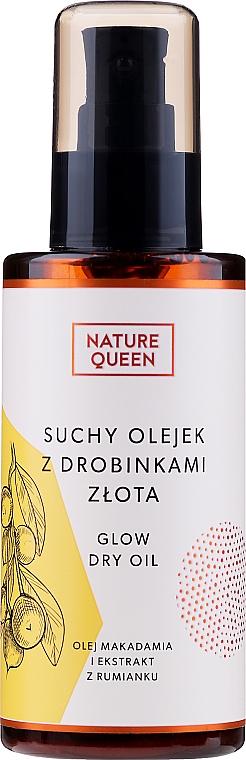 Ulei uscat pentru față - Nature Queen — фото N1
