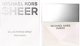 Michael Kors Sheer 2017 - Apă de parfum — Imagine N2