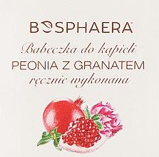 """Parfumuri și produse cosmetice Bombă pentru baie """"Bujor și rodie"""" - Bosphaera"""