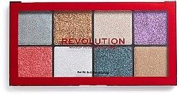 Parfumuri și produse cosmetice Paletă glitter - Makeup Revolution Halloween 2019 Pressed Glitter Palette