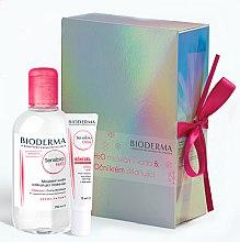 Parfumuri și produse cosmetice Set - Bioderma Sensibio (micel/water/250ml + eye/cr/15ml)