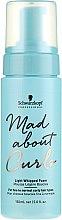 Parfumuri și produse cosmetice Spumă cu fixare ușoară pentru păr ondulat - Schwarzkopf Professional Mad About Curls Light Whipped Foam