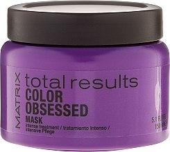 Parfumuri și produse cosmetice Mască pentru întreținerea culorii părului vopsit - Matrix Total Results Color Obsessed Mask