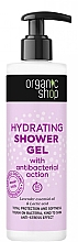 Parfumuri și produse cosmetice Gel hidratant de duș  - Organic Shop Antibacterial Action Hydrating Shower Gel