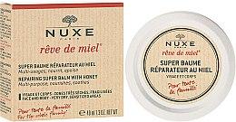 Parfumuri și produse cosmetice Balsam regenerator pentru buze - Nuxe Reve de Miel Repairing Super Balm With Honey