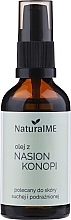 Parfumuri și produse cosmetice Ulei din semințe de cânepă - NaturalME (cu dozator)