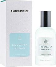 Parfumuri și produse cosmetice Tonic profund hidratant pentru față - Thank You Farmer True Water Toner