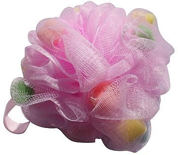 Burete de baie, multicoloră - Gabriella Salvete Body Care Mesh Massage Bath Sponge