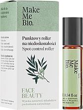 Parfumuri și produse cosmetice Ser facial - Make Me Bio Face Beauty Spot Control Roller
