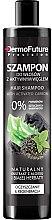 Parfumuri și produse cosmetice Șampon pe bază de cărbune activ - DermoFuture Hair Shampoo With Activated Carbon