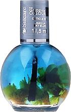 Духи, Парфюмерия, косметика Ulei pentru cuticule și unghii - Silcare The Garden Of Colour Vanilla Sky Blue