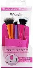 Parfumuri și produse cosmetice Organizator pentru pensule de machiaj, roz - Real Techniques Single Pocket Expert Beauty Organizer Pink