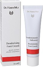 Parfumuri și produse cosmetice Deodorant-cremă pentru picioare - Dr. Hauschka Deodorizing Foot Cream