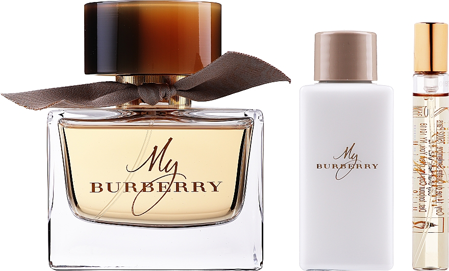 Burberry My Burberry - Set (edp/90ml + b/lot/75ml + edp/7,5ml)