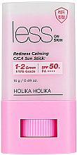 Parfumuri și produse cosmetice Stick corector pentru protecție solară - Holika Holika Less on Skin Redness Calming CICA Sun Stick SPF50+