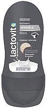 Parfumuri și produse cosmetice Deodorant roll-on - Lactovit Men Invisible Deodorant Roll-On