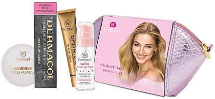 Set - Dermacol (foundation/30g + makeup/base/30ml + powder/13g + bag) — Imagine N1