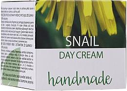 Parfumuri și produse cosmetice Cremă de zi cu extract de mucină de melc - Hristina Cosmetics Handmade Snail Day Cream
