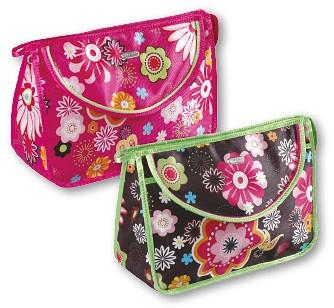 """Trusă cosmetică """"Flower"""" 92701, roz - Top Choice — Imagine N1"""