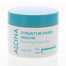 Parfumuri și produse cosmetice Ceară pentru fixarea părului - Alcina Natural Struktur Faser Wachs