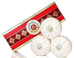 "Parfumuri și produse cosmetice Set trei săpunuri parfumate ""Jean Marie Farina"" - Roger & Gallet Jean Marie Farina Perfumed Soaps (soap/3x100g )"