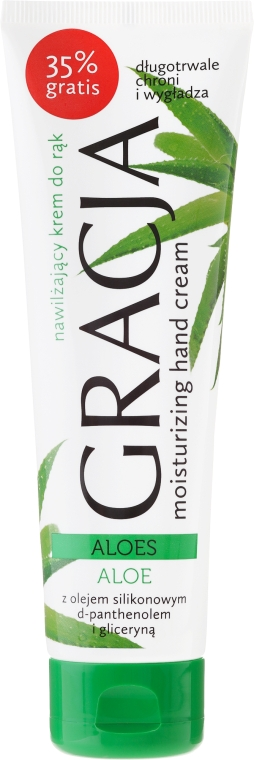 Cremă hidratantă cu extract de aloe pentru mâini - Miraculum Gracja Aloe Hand Cream